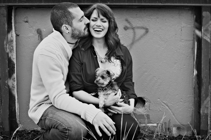 Michael Galeotti and his ex-wife Bethany Joy Lenz