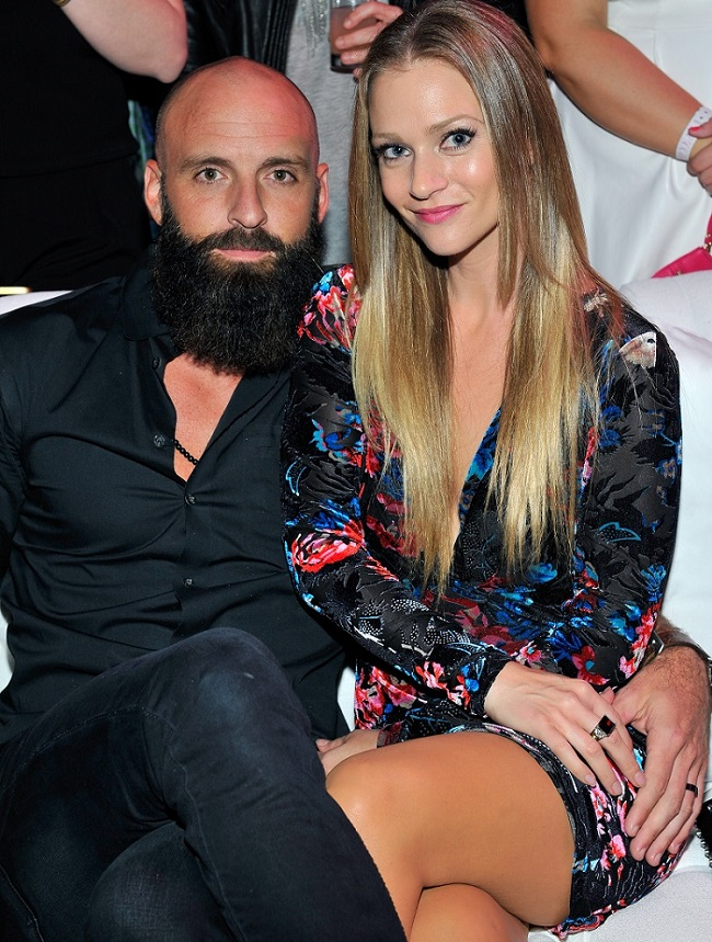 Nathan Andersen and Actress A. J. Cook