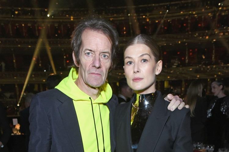 Robie Uniacke and Rosamund Pike