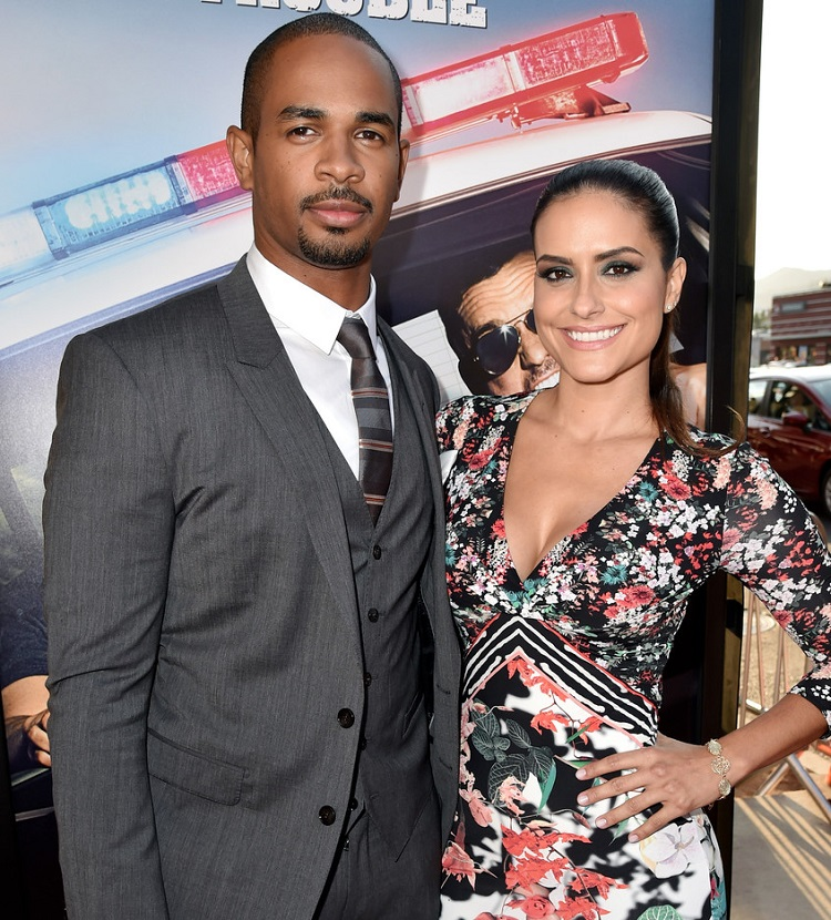 Samara Saraiva with husband Damon