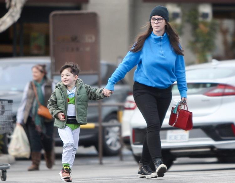 Autumn James Hallisay mother Jennifer with brother Atticus