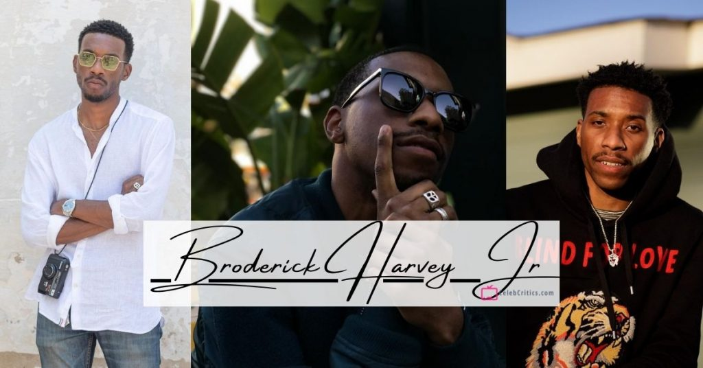 Broderick Harvey Jr Biography, net worth, family and career