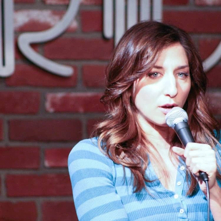 Chelsea Peretti mother of Beaumont Gino Peele