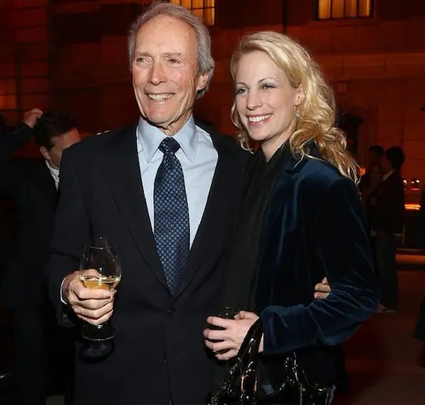 Jacelyn Reeves with Clint Eastwood