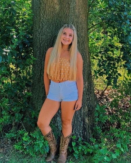 Jadyn Standefer granddaughter of Elisa Gayle Ritter from Chassidy Blackstock and Scott Standefer