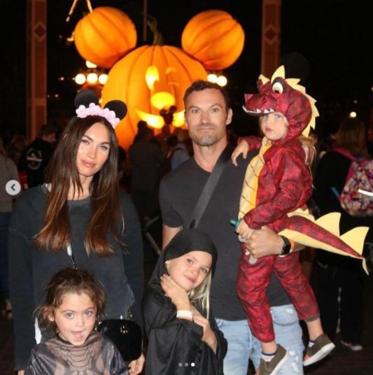 Megan Fox, Brian Green, Noah Green, Journey and Bodha