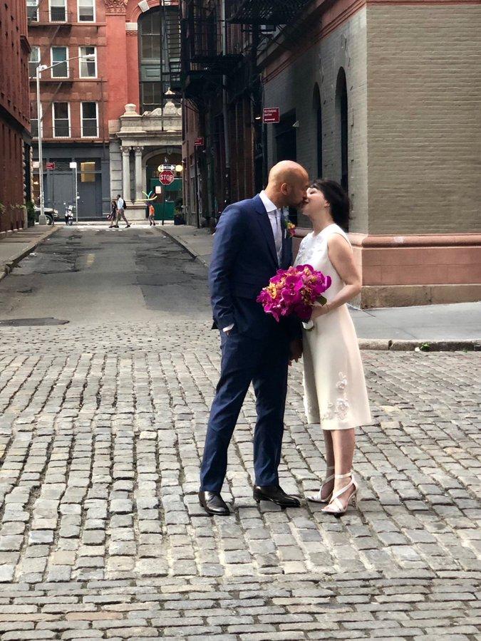 Michael Keegan and Elisa wedding phot