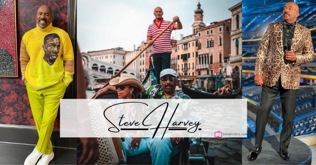 Steve Harvey biography net worth and family