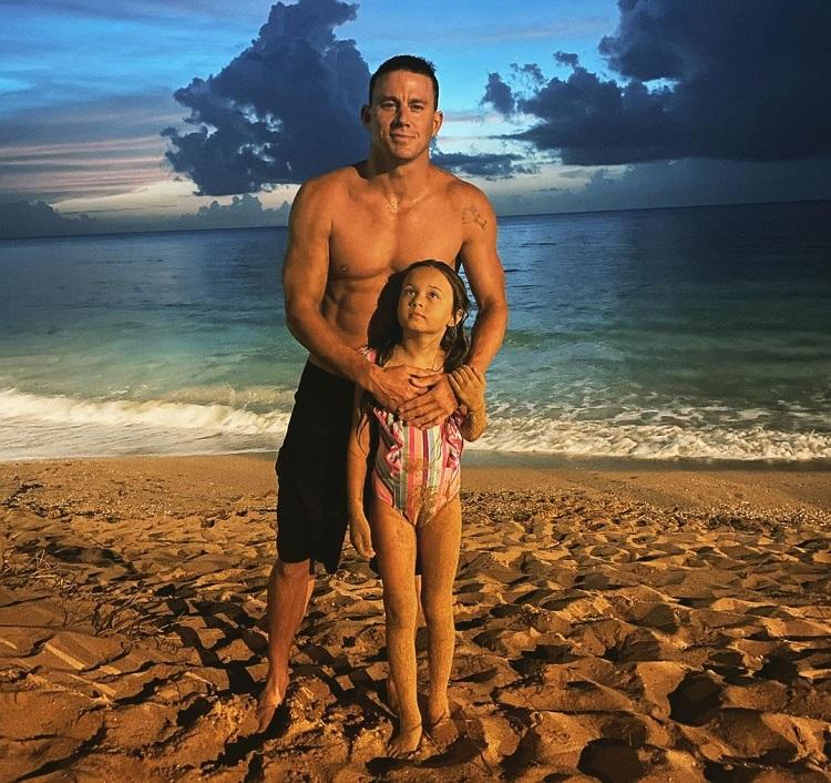 Channing Tatum with daughter Everly Tatum