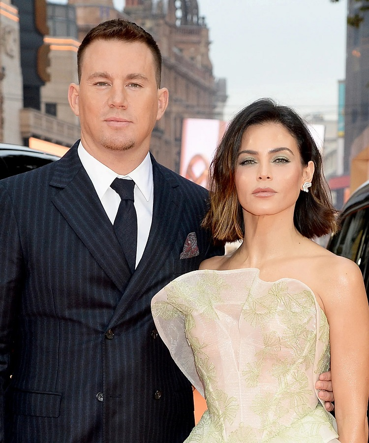 Channing Tatum with ex-wife Jenna Dewan