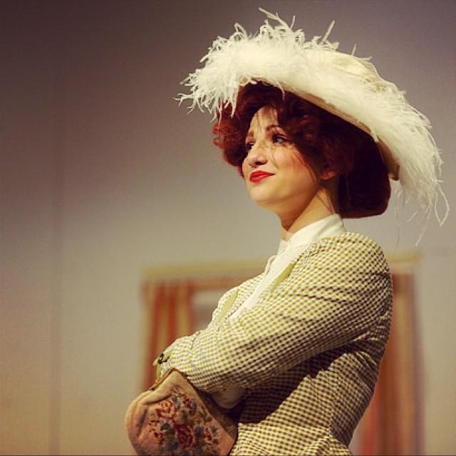 Marisa Abela taking her acting classes in RADA