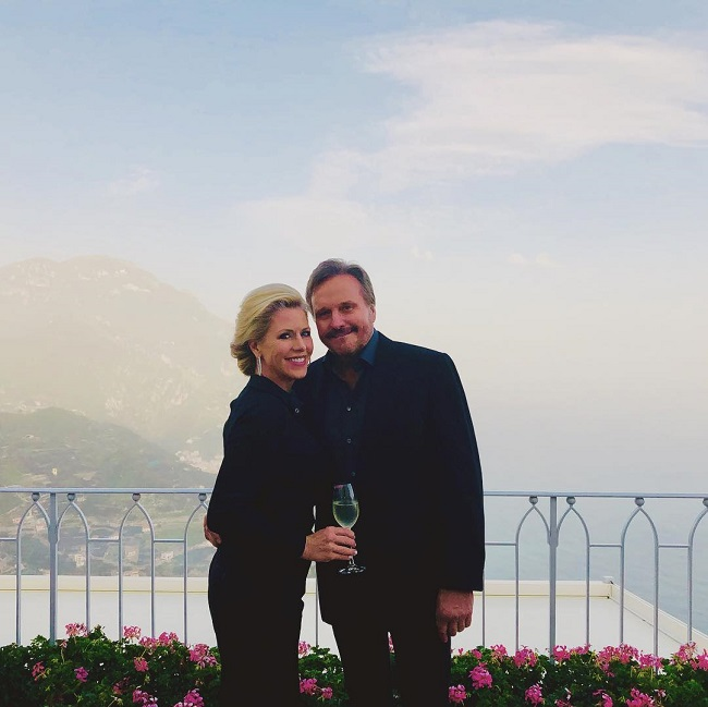 Narvel with his girlfriend Laura Putty Stroud