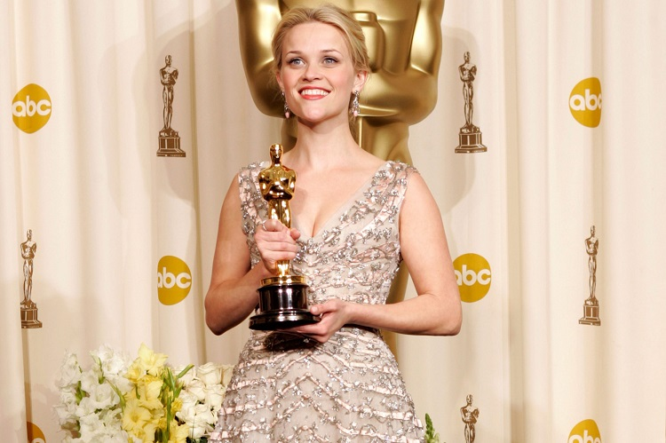 Reese Witherspoon receiving awards