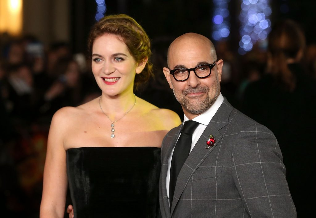 Sister of Emily, Felicia with her husband Stanley Tucci