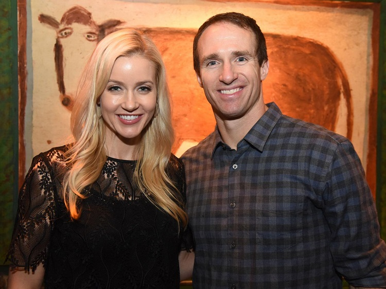 Brittany Brees with Drew Brees
